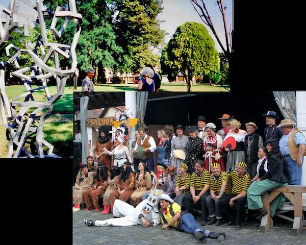 Bühne MöWa und Skulpturenpark vor 20 Jahren